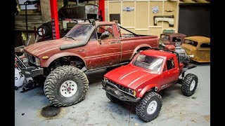 Unboxing the 16th scale WPL Toyota Hilux Crawler