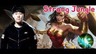 《ahq Rush 》Thailand Rank~ !! WonderWoman play!! Strong!! (傳說對決,ROV,LiênQuânMobile,AOV)