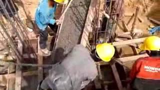 new 115 22 kv substation ban nongdeun project civil work flv