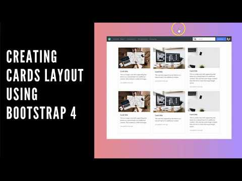 Creating Equal Height Cards Layout using Bootstrap 4 thumbnail