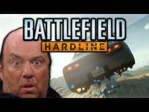 CROSS MAP LAUNCHING! (Battlefield Hardline Funny Moments - C4 Launches and Weird Glitches)