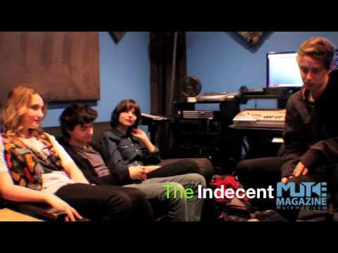 Mute Mag interview The Indecent