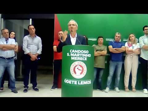 PS CANDOSO APRESENTAÇÃO DA LISTA CANDIDATA À ASSEMBLEIA DE FREGUESIA.