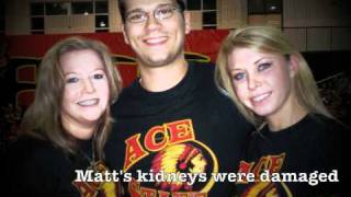 The Matt McCallum Kidney Transplant Fund, Cheer for a Cause
