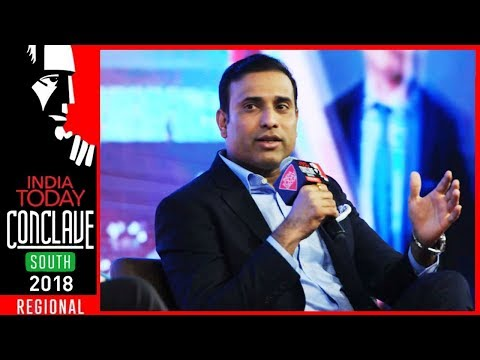 VVS Laxman: 281 My Unlucky Number But Glad People Remember Eden Test | #ConclaveSouth18