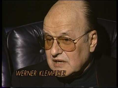Werner Klemperer--1992 TV Interview, Hogan's Heroes