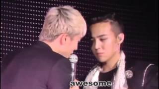 GD & SEUNGRI HOT MOMENT IN BIGBANG MADE TOUR FUKUOKA 29.11.2015