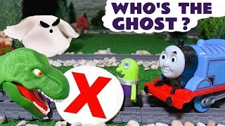 Funny Funlings Mystery Ghost Fun Game With Thomas The Tank Engine And A Dinosaur Tt4u