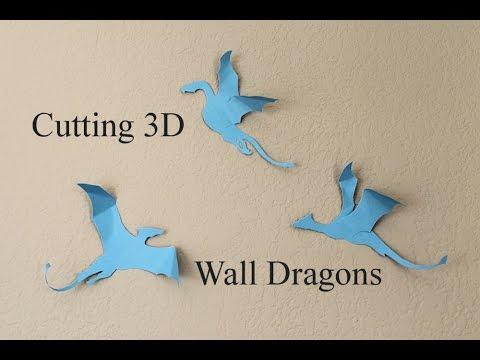 Cutting 3D Wall Dragons