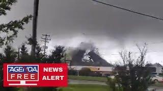 Tornado Reports in Richmond, VA - LIVE COVERAGE
