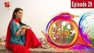 Dhaani - Episode 29 | GEO KAHANI