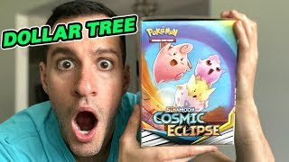 *ENTIRE BOX OF DOLLAR TREE NEW POKEMON CARDS!* Opening COSMIC ECLIPSE Booster Packs!