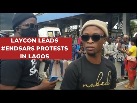 LAYCON LEADS END SARS PROTEST TODAY| HIDDEN CAMERA REVEALS POLICE EXTORTION| PROTESTS CONTINUE