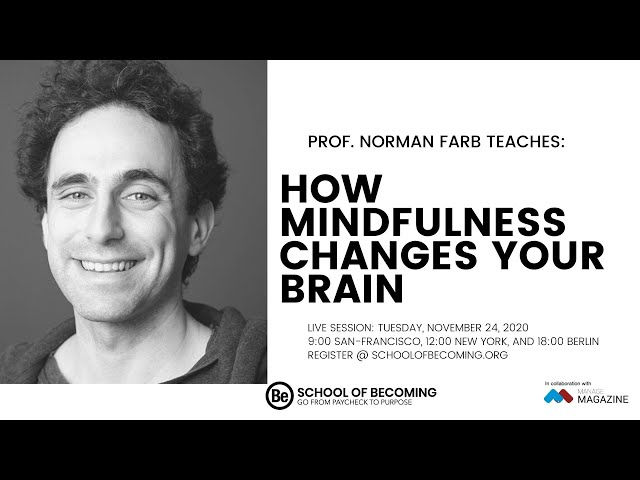 How Mindfulness Changes Your Brain with Prof. Norman Farb