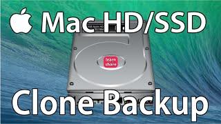 How to Backup Clone Mac Disk Drive (HDD/SSD)