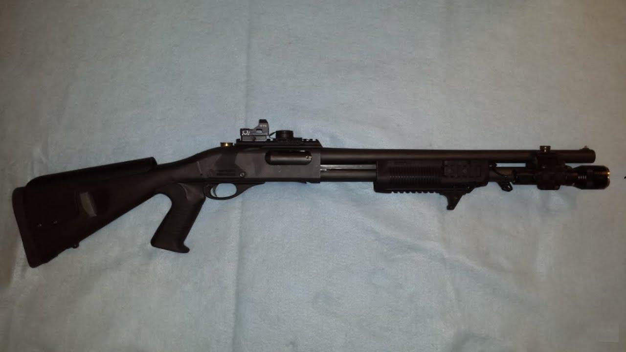 Remington 870 Tactical Shotgun - YouTube