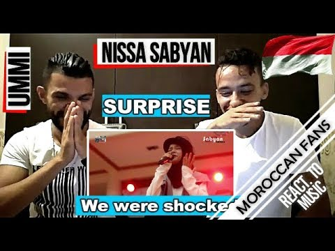 Arab React To | Nissa Sabyan - UMMI ''My Mother'' (English Sub) || MOROCCAN REACT
