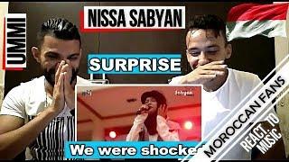 Arab React To   Nissa Sabyan - UMMI ''My Mother'' (English Sub)    MOROCCAN REACT
