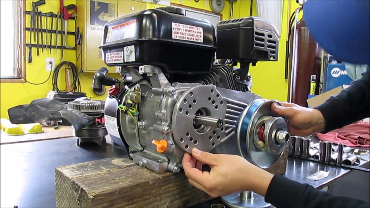 Episode 23  The wrong way to install a torque converter on a Predator 212