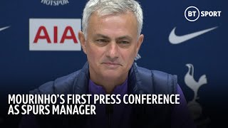 Jose Mourinho's FIRST FULL first press conference as Tottenham manager