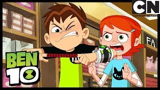 Ben's Fingers are Stuck Together | A Sticky Situation | Ben 10 | Cartoon Network