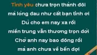 Mua Chieu Mien Trung Karaoke - Cẩm Ly - CaoCuongPro