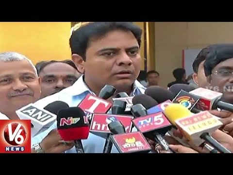 Telangana Bags Best Performing State Awards By India Today | Delhi | V6 News