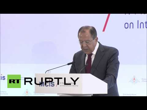 Russia: Lavrov addresses 4th Moscow Conference on International Security