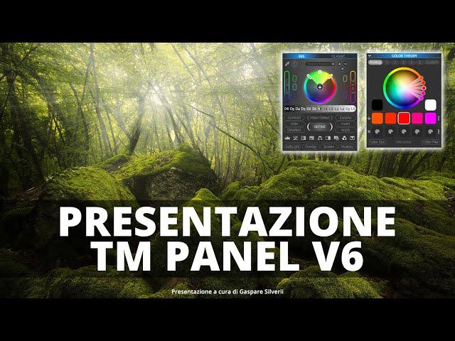 Photoshop Plugin: TM PANEL V6 - Rivoluziona la tua PostProduzione!