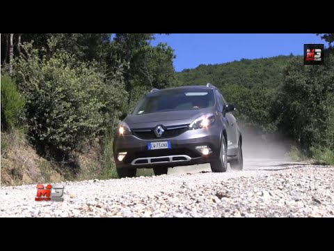 RENAULT SCENIC XMOD CROSS ENERGY 1.5 DCI 110 CV - TEST DRIVE ON AND OFF ROAD