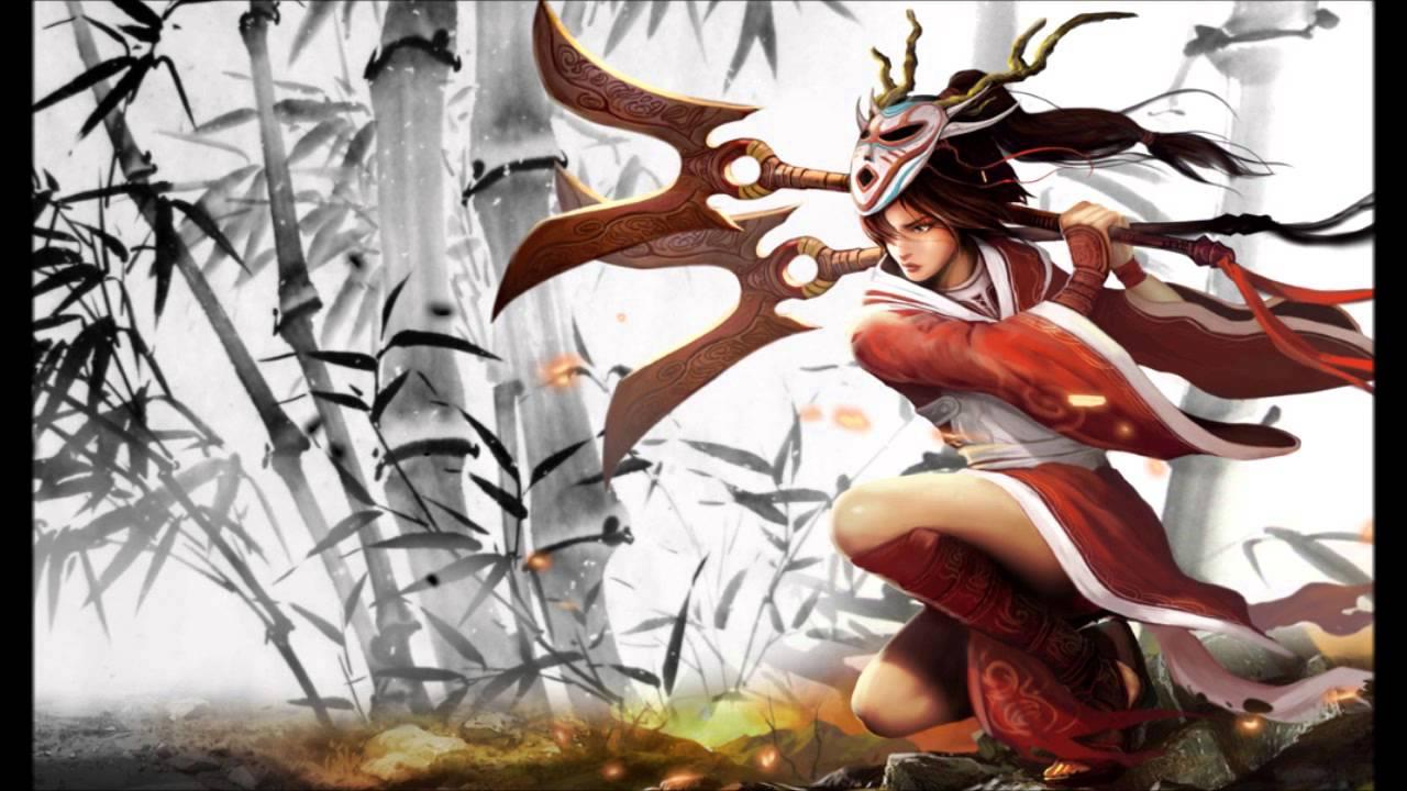 LoL Game/Anime music for Skins - Blood Moon Akali