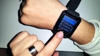 review smart watch u8