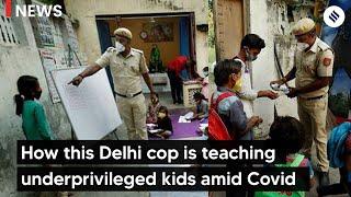How Delhi cop is teaching underprivileged kids Inside Lal Quila Parking