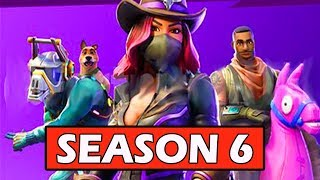 [NEW] FORTNITE SEASON 6 LEAKED! *PETS COMING* (BATTLE PASS SKINS)