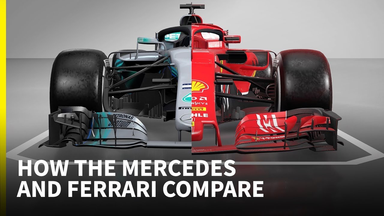 F1 2018 Tech Special How Mercedes And Ferrari Compare Youtube