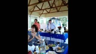 Песни на свадьбе у Азаренко.