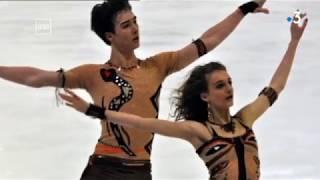 Les premiers pas de Gabriella Papadakis et Guillaume Cizeron
