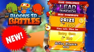 new club arena and unlocking new map   bloons td battles gameplay btd battles