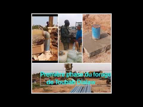 PIKINE DIASPORA RADIO 3 Dec 2017 premiere phase du projet de forage d'un puit a Toubab Dialaw