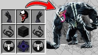 VENOM CRAFTEN IN MINECRAFT