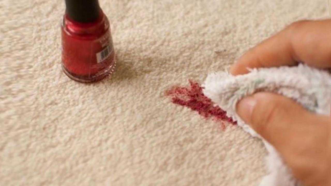 Лак для ногтей чем отстирать