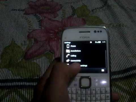 How to change 3G to 3.5G on Nokia e6