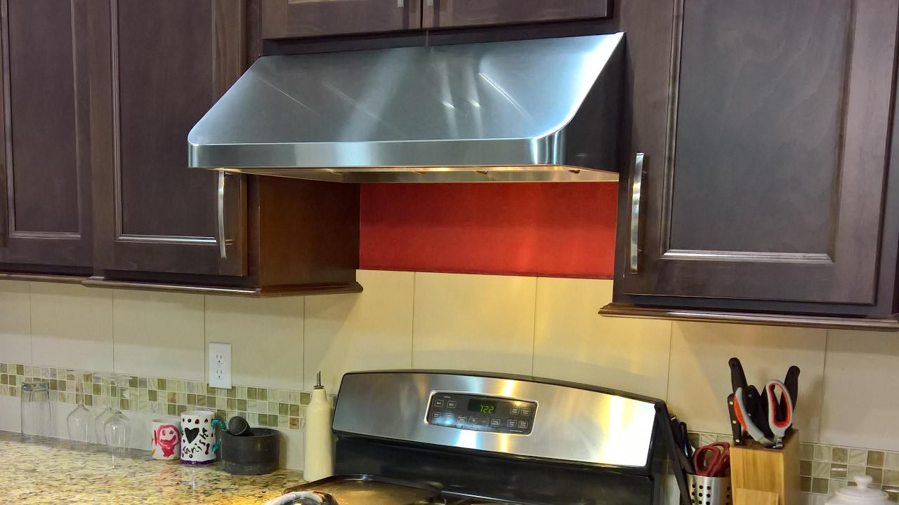 replacing over the range microwave with range hood