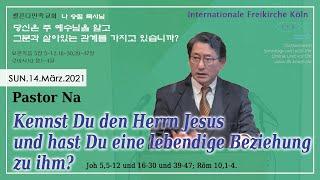 Kennst Du den Herrn Jesus und hast Du eine lebendige Beziehung zu Ihm?