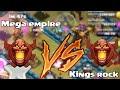 Clash of clans   KINGS ROCK vs  MEGA EMPIRE  Leaderboard wars