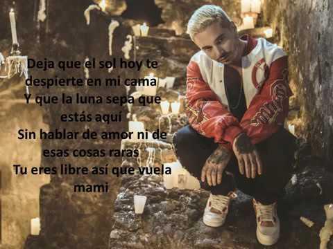 J Balvin   Bobo letra  lyrics