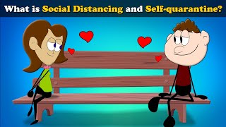 What is Social Distancing and Self-quarantine? | Coronavirus | COVID-19 | #aumsum #kids #science