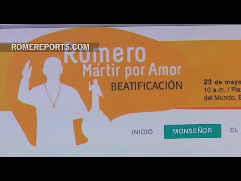 A website with all the details about the beatification of Archbishop Oscar Romero