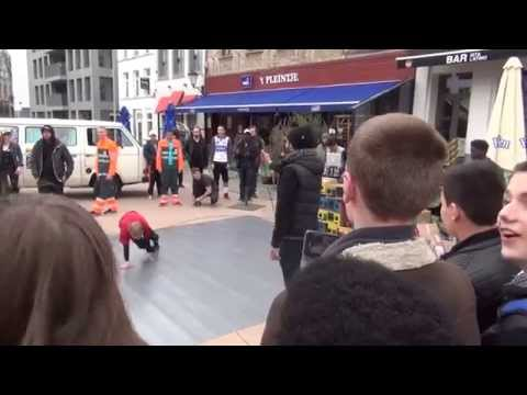 BEAT UP - Flashmob Veemarkt Mechelen
