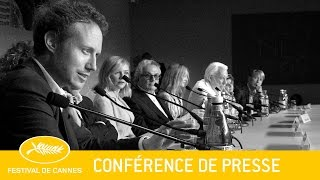JURY - Press conference - EV - Cannes 2016